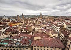 FIRENZE. (FRANCO600D) Tags: panorama italia campanile firenze toscana citta giotto santacroce palazzovecchio rinascimento badiafiorentina museonazionaledelbargello