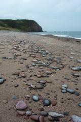 25-7-2013 (Copperhobnob) Tags: sea sky beach landscape sand rocks explored