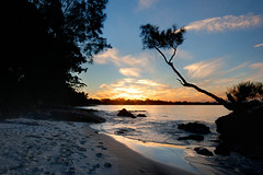 Sunset from Orion Beach (snap happy2) Tags: beach sunsets jervisbay bbcc commended baybasin
