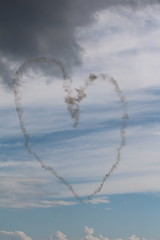 MAKING A HEART 11 (M7CCF STYLE! 2014) Tags: show blue sea sky cloud car clouds canon eos grey fly flying george sand hug kiss war king power heart air flight kisses queen sunderland huggs 2013 650d poweer