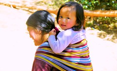 On A Pilgrimage Trail....... to Paro Taktsang, The Tiger's Nest (pallab seth) Tags: travel kids trekking children kid tour child bhutan tourist trail paro youngster pilgrimage tigersnest taktsangpalphugmonastery