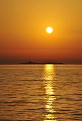 Sunset... (Lello Massa) Tags: sardegna sunset sea summer italy sun nikon italia sardinia sole azzurro arancio d3000
