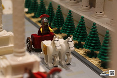 ROMAN DISPLAY (PHASE I) (Jared Chan) Tags: rome fountain temple ancient lego roman forum caesar empire octopus triumphalarch seamonster chariot moc bireme legendbricks