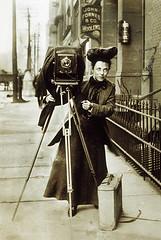Jessie Tarbox, Photojournalist, about 1905 (JFGryphon) Tags: 1905 photojournalist jessietarbox