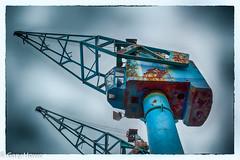 Cranes (GaryHowe) Tags: salfordquays cranes