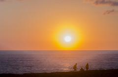 (loThings) Tags: light sunset red sea people espaa orange costa sun sol island atardecer coast mar spain rojo nikon couple gente pareja playa amarillo yelow naranja isla menorca rojizo nikond7000