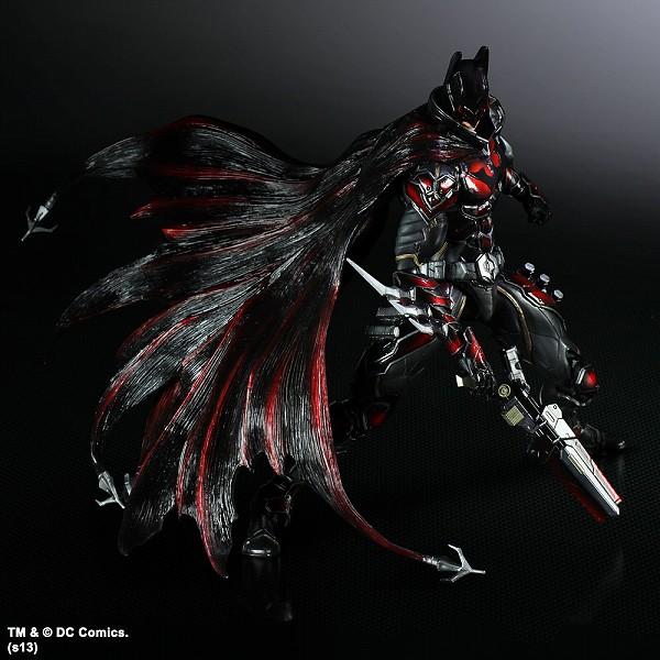 Play Arts 改 DC COMICS 變體版「蝙蝠俠」限定配色開始販售!