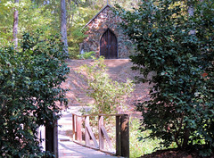 Rock Chapel  1891 (Backyardbella) Tags: architecture french chapel historic monastery missionary german monks cultural romancatholic carmelites gothicstructure bayoupierre desotoparish carmellouisiana bayouloup