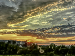 Sunrise (pasiak75) Tags: sunrise kraków hdr 2013 wschódsłońca zsamochodu