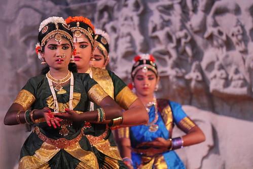 Mamallapuram, Indian Dance Festival, Bha by Arian Zwegers, on Flickr