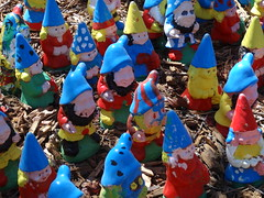 Gnome Hill at Canberra Floriade or is it Noddys Picnic (denisbin) Tags: garden canberra gnomes act floriade