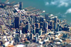 SANFRAN SKYLINE-tiltshift