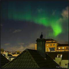 Northern Lights night (Vardetangenfilm) Tags: norway bergen northernlights