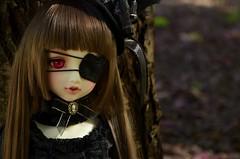ShiroiYuki (Purple  Enma) Tags: white black girl leaves ball closet doll dolls skin room gothic version lolita bjd resin egl elegant jointed lieselotte