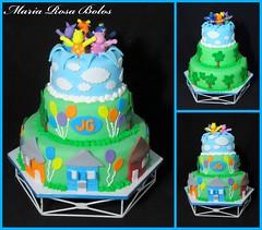 Cake Backyardigans (Maria Rosa Bolos) Tags: cake bolo backyardigans