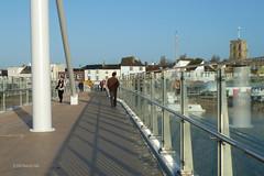 Adur Ferry Bridge (7) (Malcolm Bull) Tags: bridge ferry river foot crossing footbridge swing adur include shoreham shorehambysea