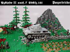 panzerIIIF-01 (Panzerbricks) Tags: lego panzer panzeriii legotank sdkfz141 panzerbricks