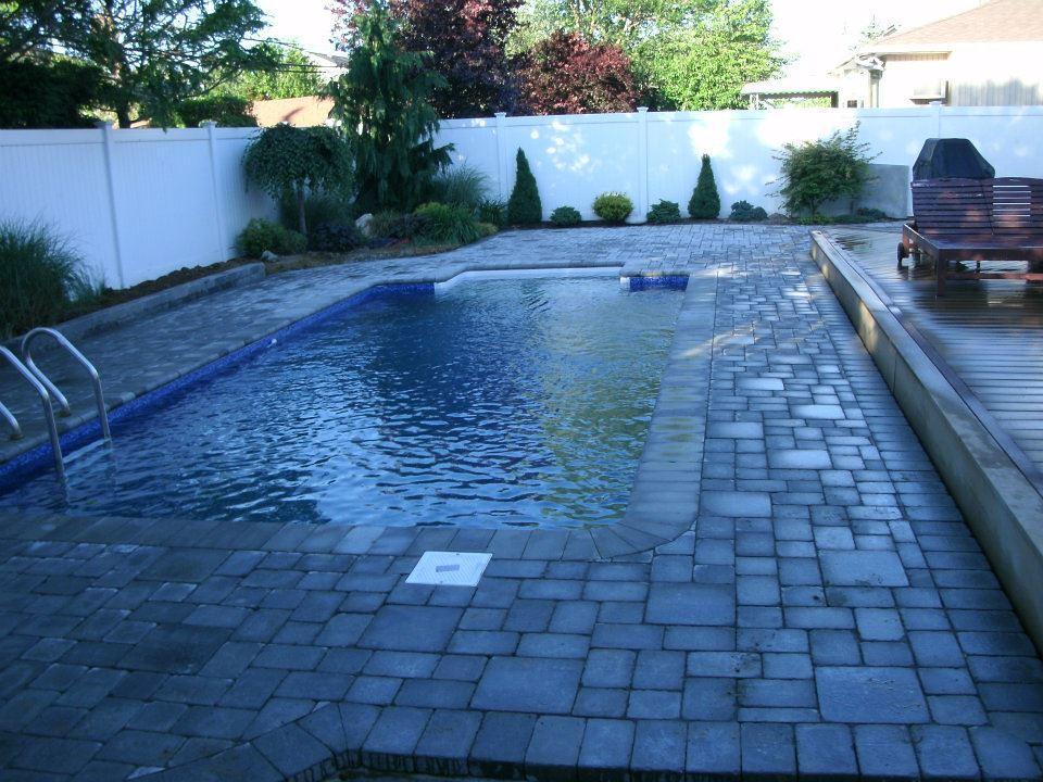 Beautiful Vinyl Liner Inground Pool By Backyard Masters (Backyard Masters) Tags: Ny  Pool Swimming