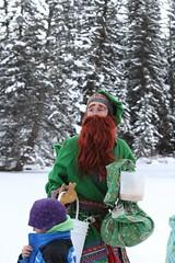 Olaf Visits Hallam Lake 2013