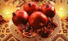 Anar Shab-e Yalda-2013 (Turmeric & Saffron) Tags: winter pomegranate solstice yalda  yaldanight  shabeyalda persiancelebration longestnigh
