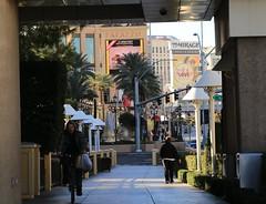The Strip. Las Vegas, Nevada (Jeff in Henderson) Tags: nevada mirage palazzo strip las vegas bicycle walk pedestrian shadow casino hotel poor people wynn city streets lyric hereinlasvegas
