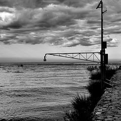 _| / (Claudia Gaiotto) Tags: winter sea sky monochrome square clouda potd:country=it