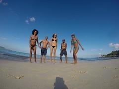 HAWAII 2014 (BOMBTWINZ) Tags: ocean sea vacation cliff holiday beach water fun hawaii waterfall jump twins paradise underwater pyramid oahu hiking woody surfing tandem tropics beachday twinkies kailua lanikai makapuu hilife longboarding 808 surfergirl gopro pillboxes bombtwinz gopole joneshi