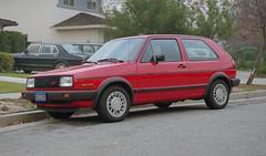 1987 VW GTI - New (Ian E. Abbott) Tags: film vw golf volkswagen 1987 mk2 500views gti a2 vwgti volkswagengolf colorfilm colornegative volkswagengti firstnewcar