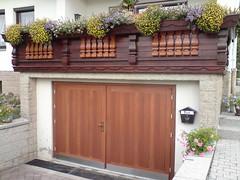 Garagentor-Holz