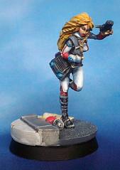 Daktari (waferthinninja) Tags: game painting miniatures infinity figure nomads daktari