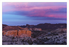 It looked just like this. No, Really! (AnEyeForTexas) Tags: sunrise landscape texas desert creativecommons limestone 20 chihuahuandesert top20texas bestoftexas