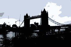 Tower Bridge in the cold