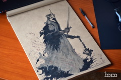 The Witch King of Angmar (Iceman_ic400) Tags: bag king witch nine lord ring lotr rings lordoftherings hobbit tolkien baggins middleearth nazgul silmarillion jrrt angmar mechkivskiy
