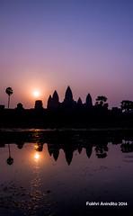 Reflction Of Angkor Wat Sunrise