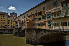 Ponte Vechio (jo.misere) Tags: art water architecture point day sony clear firenze brug alpha toscane nationalgeographic itali umbri 2013 a77sony