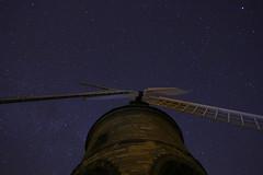 Fosse Low Light.  5. (-Metal-M1KE-) Tags: longexposure nightphotography windmill night canon stars lowlight nighttime lowlightphotography starsinthesky canon70d