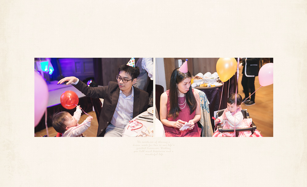 寶寶周歲親子攝影記錄生日派對party拍照攝影師