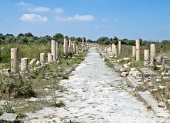 Umm Qais - decumanus maximus (maccdc) Tags: city black jordan umm basalt maximus gadara qais decumanus