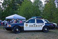 Snohomish County Sheriff's Office K-9 Unit Ford Crown Victoria Police Interceptor (andrewkim101) Tags: park county ford night out washington office state police victoria national wa crown tucker willis everett k9 interceptor unit snohomish sheriffs 2015