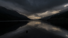 Moody Loch Eck - March 2017 (GOR44Photographic@Gmail.com) Tags: loch eck argyll cowal scotland hills water reflection gor44 cloud fujifilm xpro1 xf18mmf2