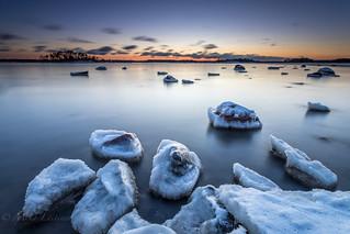 Frozen stones