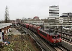 DBC 1614 + staaltrein te Rotterdam Hofplein (erwin66101) Tags: ns dbc db cargo deutsche bahn deutschebahn locomotief staaltrein staal trein goederentrein goederen beverwijk hoogovens kijfhoek station rotterdam cs centraal rotterdamcentraal rotterdamcs hofplein willemsspoortunnel