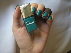 Nirvana (Dior) (Daniela nailwear) Tags: nirvana dior verde cremoso esmaltes esmalteimportado mãofeita