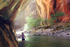 The Narrows Zion National Park (Avery Carlton) Tags: life park camping light camp cliff mountain inspiration selfportrait mountains reflection wet water america forest swim photoshop self canon river landscape outdoors photography utah photo waterfall spring ut rocks photographer dof outdoor hiking earth live magic north perspective creative nat canyon hike adventure explore reflect american saturation land imagine zion wade 365 zionnationalpark inspire geo magical avery hdr narrows nationalgeographic zions discover averycarlton
