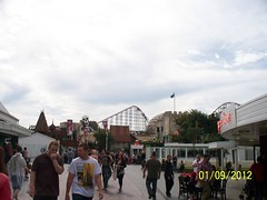 Blackpool Pleasure Beach (ZacharyKent) Tags: england geotagged town seaside europe northwest unitedkingdom lancashire amusementpark blackpool 2012 thebiggestgroup wikimapia kodakeasysharez1285zoom
