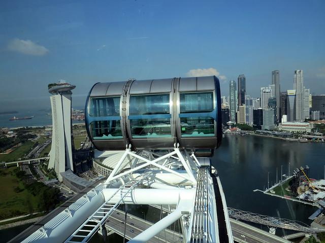 Singapore Flyer Ferris Wheel - Singapore