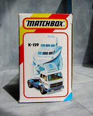 Matchbox Toys Mercedes Benz Power Launch Transporter 1985 - 6 Of 6 (Kelvin64) Tags: toys mercedes benz power launch 1985 matchbox transporter
