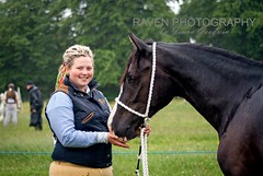Amy & Ozzy (Raven Photography by Jenna Goodwin) Tags: show friends portrait horse animal bay d environmental portraiture welsh upclose equestrian section equine flickrfriday