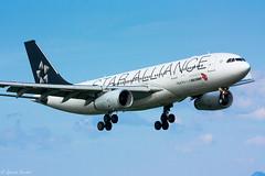 B-6091 @ GVA : Airbus A330-243 Air China Star Alliance (Quentin Douchet) Tags: china air airbus a330 a330200 gva b6091
