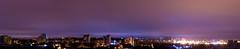 Cityscape from my house-Panorama (Satish Chelluri) Tags: nightphotography panorama buildings lights pano hyderabad nizampet satishchelluri satishchelluriphotography